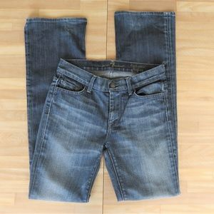 7 For All Mankind High Waisted Bootcut Jeans 28